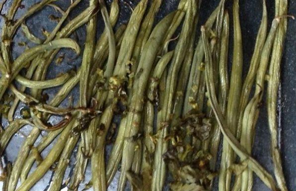 haricots verts au four