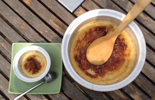 Crème aux oeufs et à la noix de coco