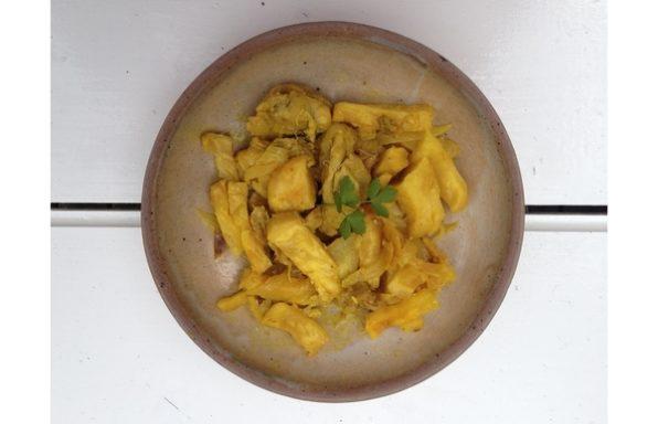Poulet au céleri-rave et au citron